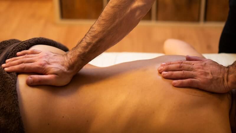 Masaje equilibrante de chakras