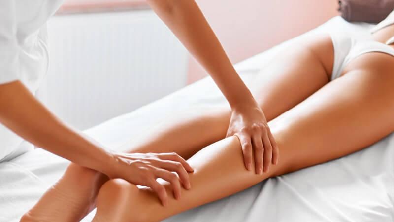 Cómo realizar el masaje de las extremidades inferiores